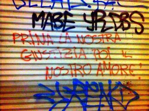 Scritte sui Muri Justice & love