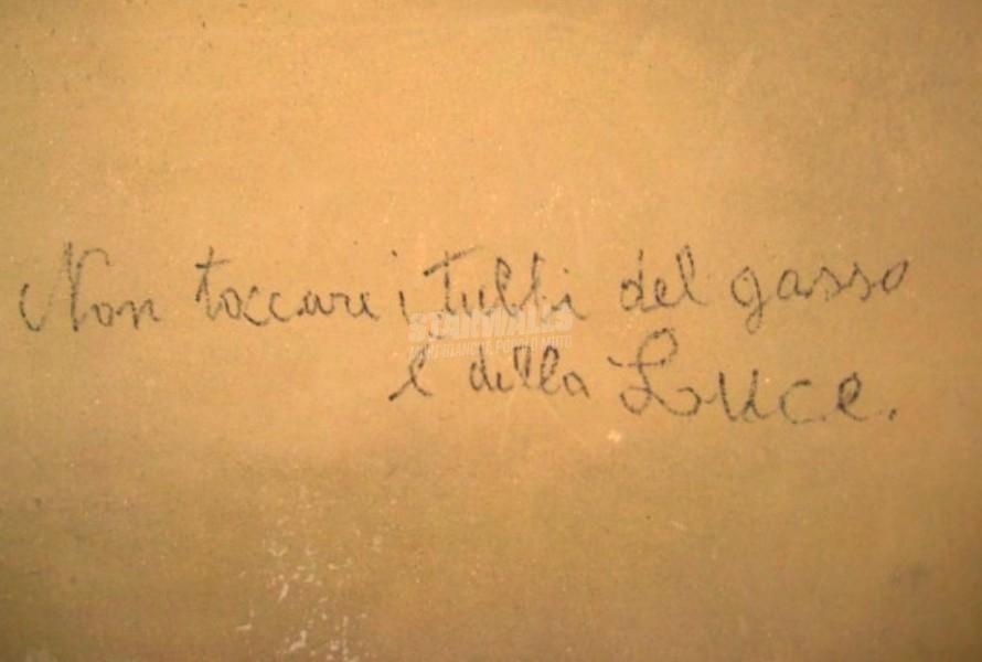 Scritte sui Muri Mi raccomando