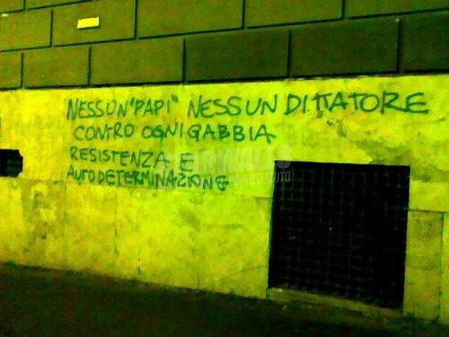 Scritte sui Muri Partigiani urbani