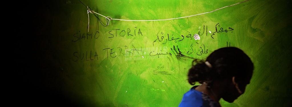 Scritte sui Muri scrittori del tempo
