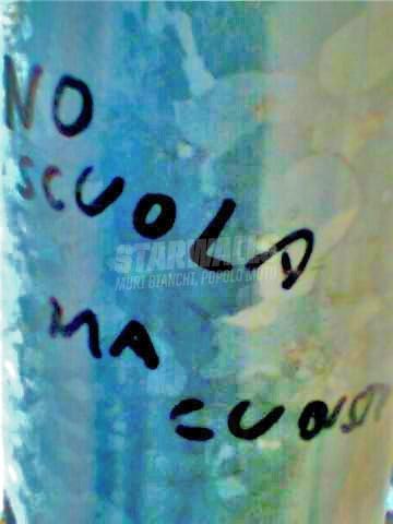 Scritte sui Muri giovani ma con le idee chiare ..