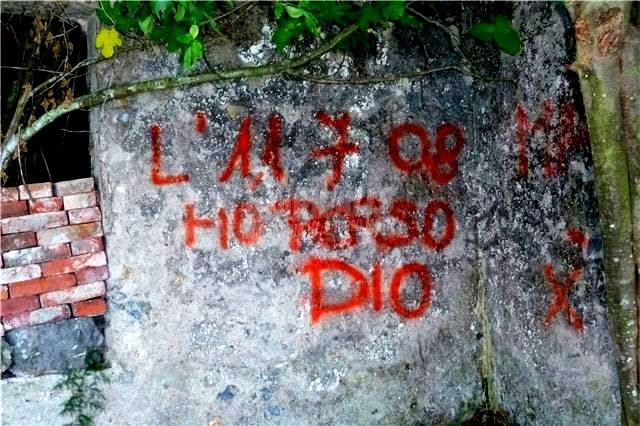 Scritte sui Muri apostasia