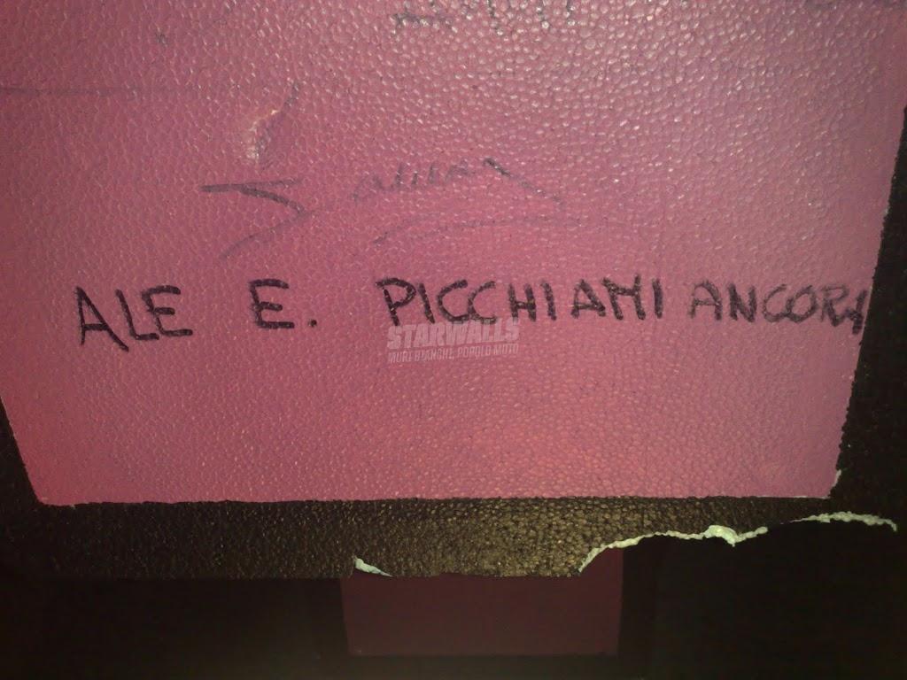 Scritte sui Muri il dolore che piace