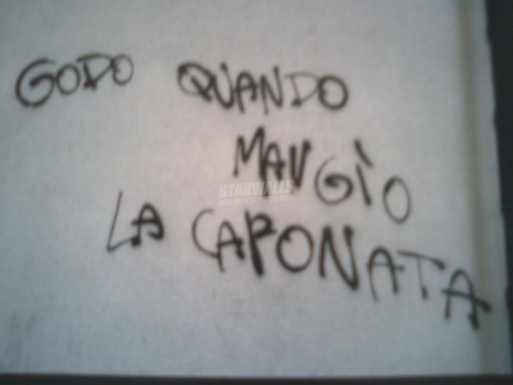 Scritte sui Muri sensibile al gusto