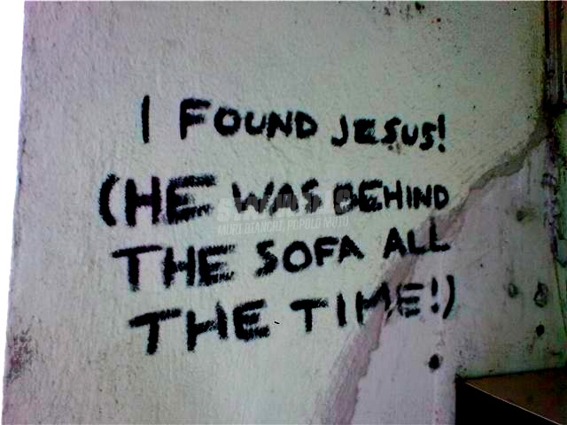 Scritte sui Muri testimonianza