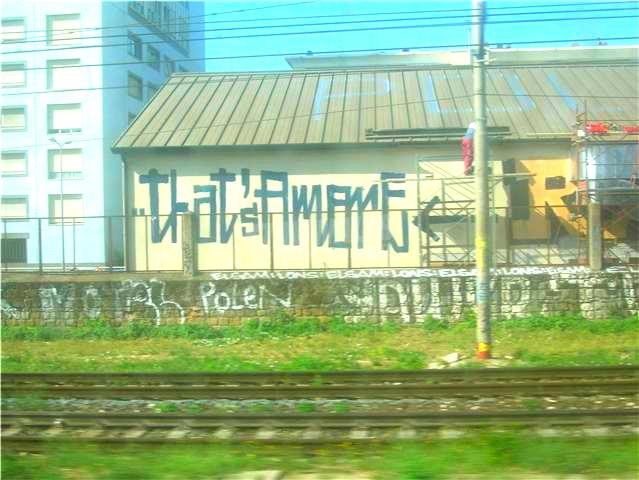 Scritte sui Muri Dean Martin metropolitano