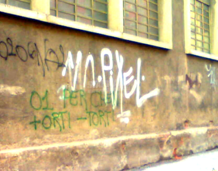 Scritte sui Muri green power!