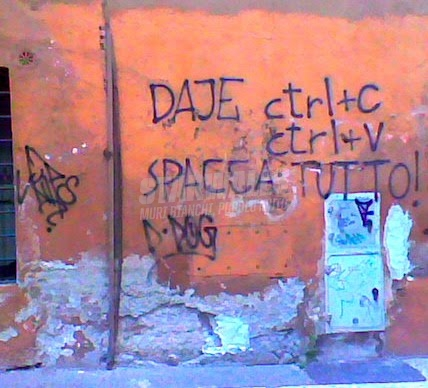 Scritte sui Muri riot click