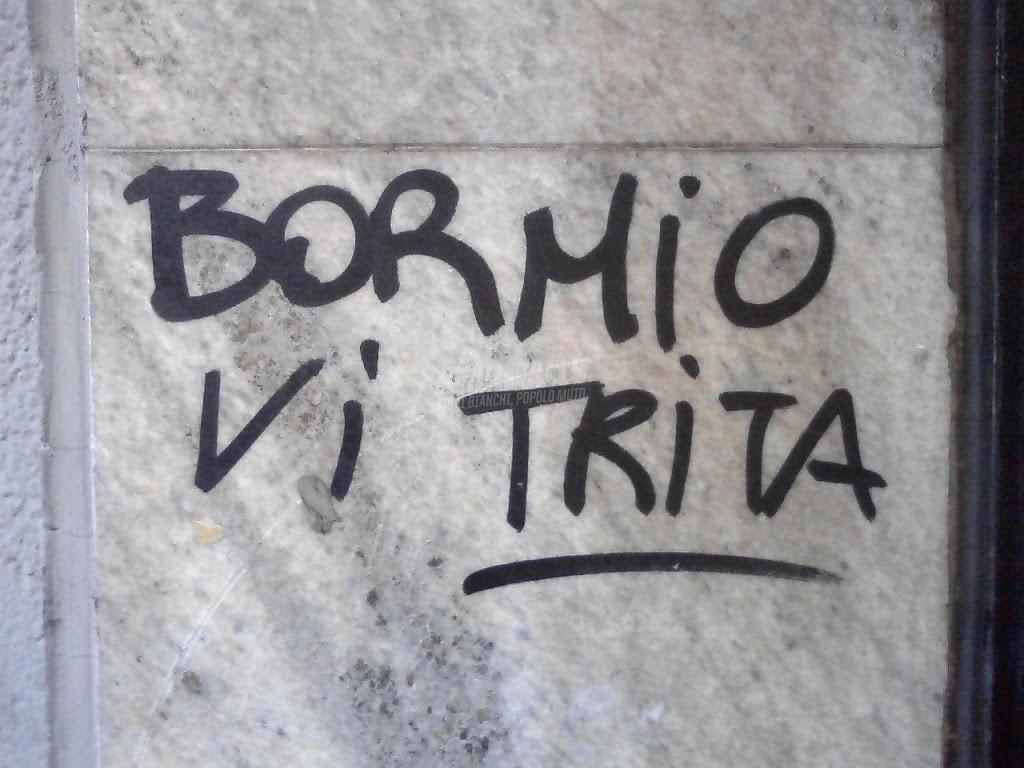 Scritte sui Muri attenti