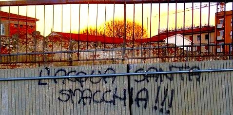 Scritte sui Muri pulito sicuro