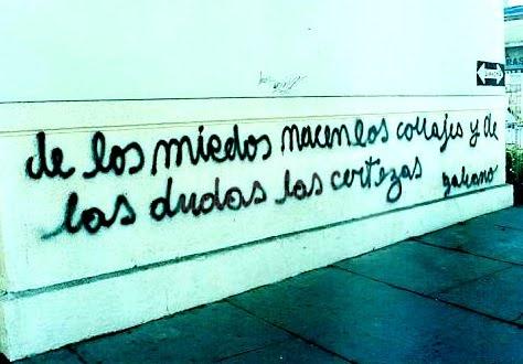 Scritte sui Muri preciosas palabras