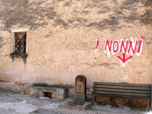 Scritte sui Muri posti riservati