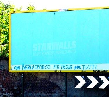 Scritte sui Muri Il nuovo miracolo italiano