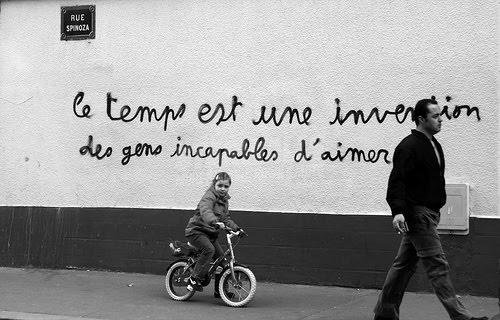 Scritte sui Muri il tempo e l'amore