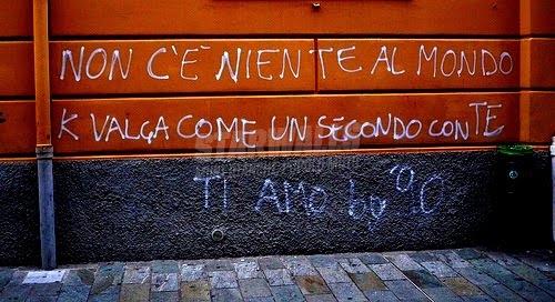 Scritte sui Muri Ah l'amour ..