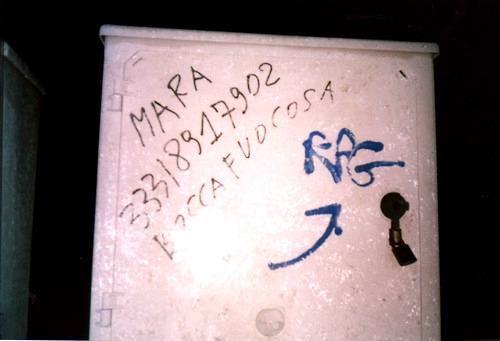 Scritte sui Muri gola infiammata?