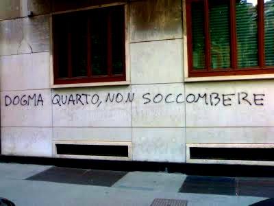 Scritte sui Muri Un nuovo dogma!