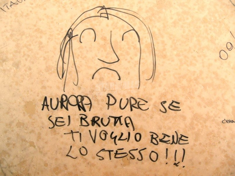 Scritte sui Muri L'amore è cieco (ma vede lontano)