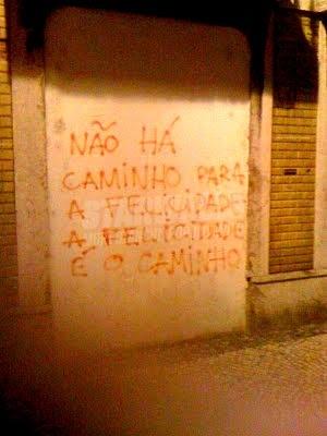 Scritte sui Muri cammina cammina...