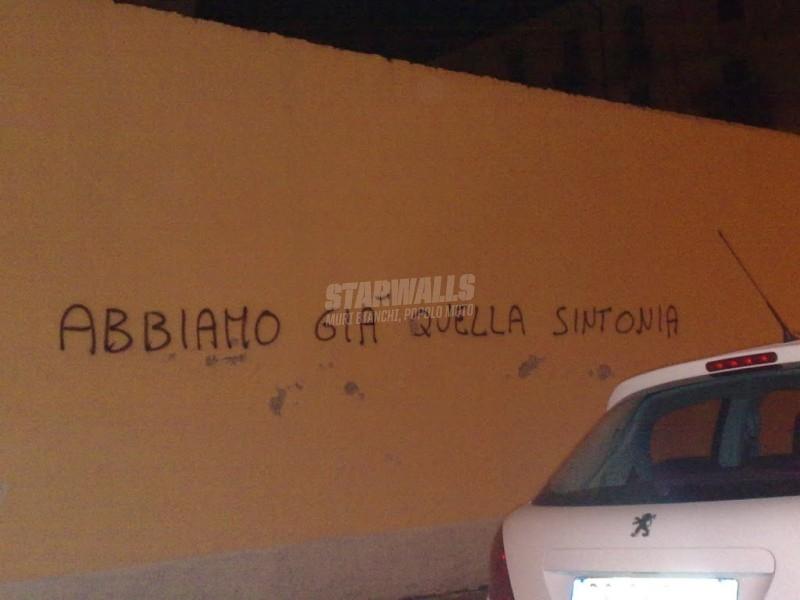 Scritte sui Muri Mi sento in sinto