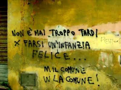 Scritte sui Muri Non disperare