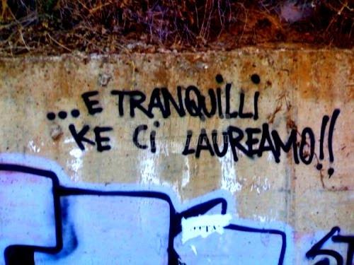 Scritte sui Muri Non in lettere