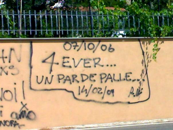 Scritte sui Muri Tutto ha un inizio. E una fine ..