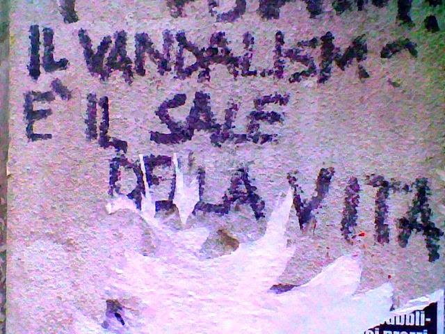 Scritte sui Muri Altro che ottimismo