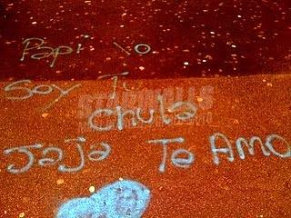 Scritte sui Muri Amori latinoamericani