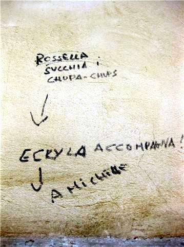 Scritte sui Muri Chupadores