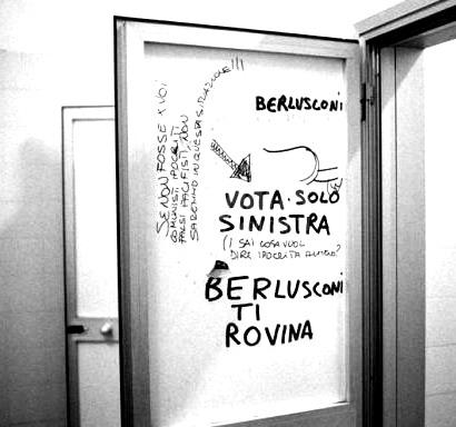Scritte sui Muri Indicazione di voto cap. II