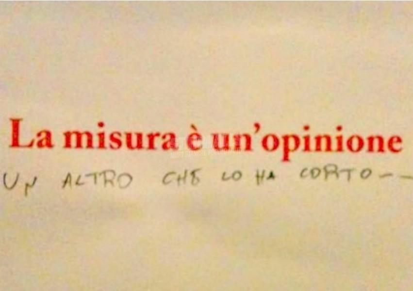Scritte sui Muri Le dimensioni contano cap. III