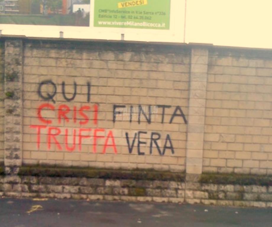 Scritte sui Muri Così non va