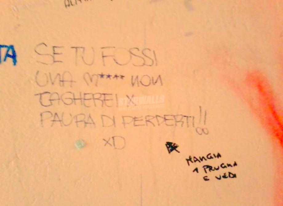 Scritte sui Muri Stitichezza d'amore