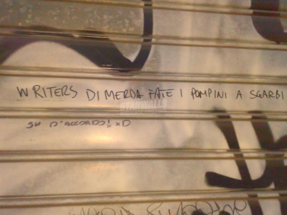 Scritte sui Muri Compromessi culturali