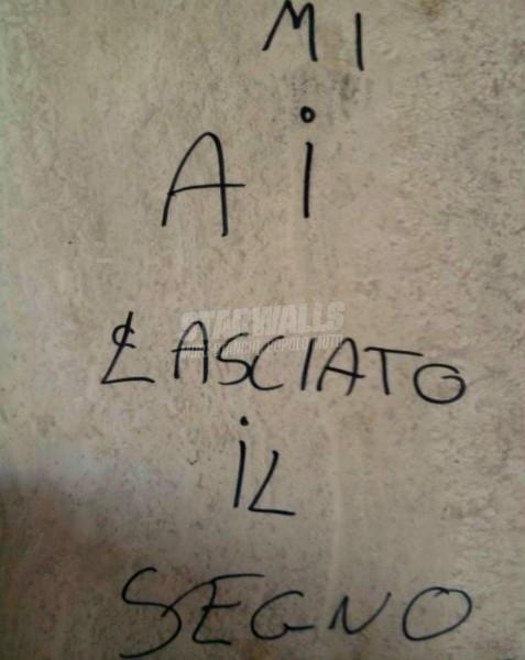 Scritte sui Muri Indelebile