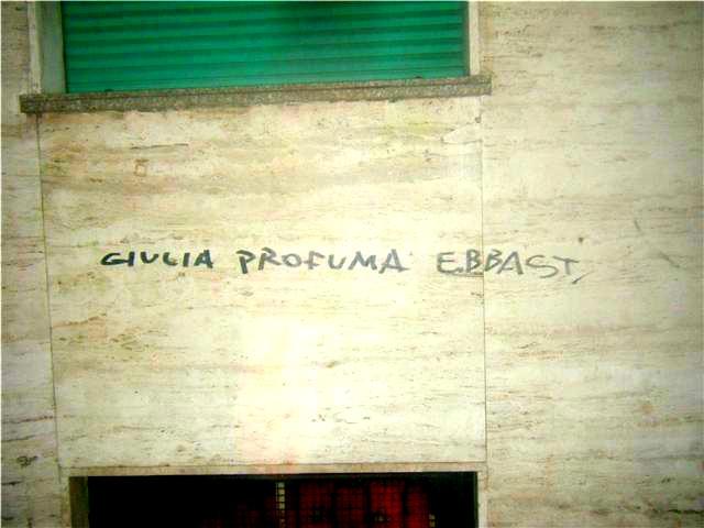 Scritte sui Muri Sono solo illazioni