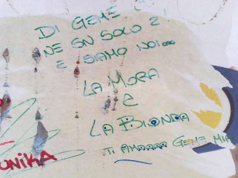 Scritte sui Muri Prove da veline
