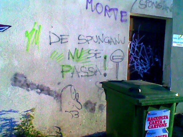 Scritte sui Muri Bunker salentino