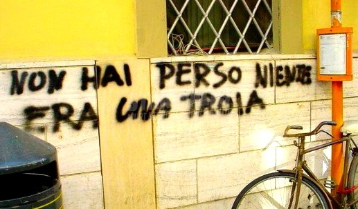Scritte sui Muri Nessun rimpianto