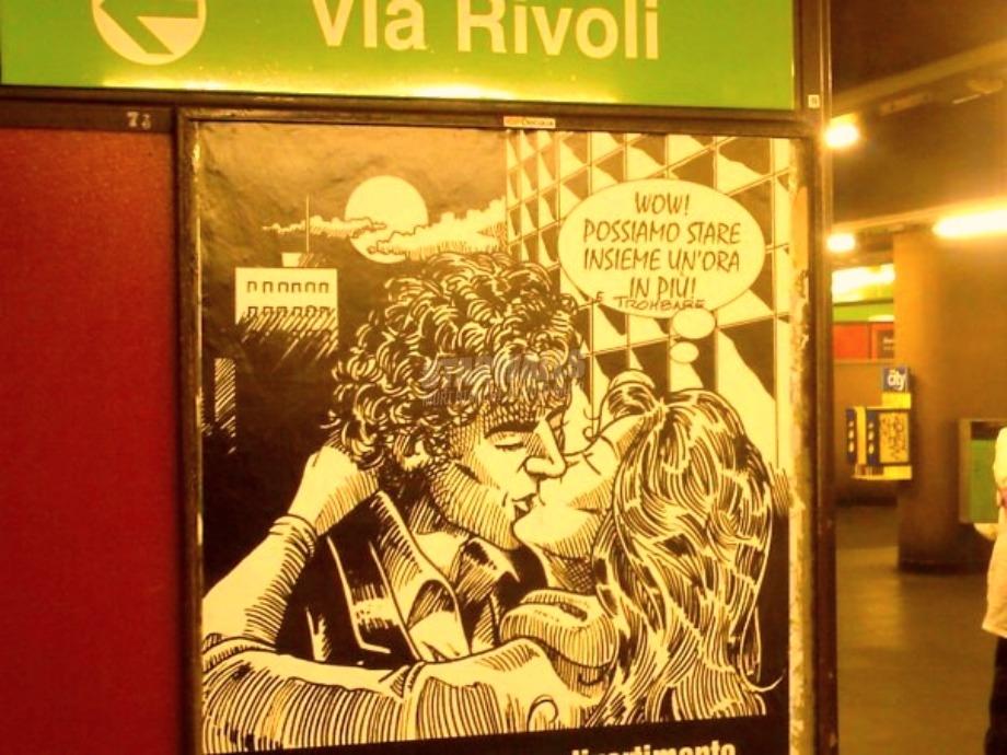 Scritte sui Muri Subway love