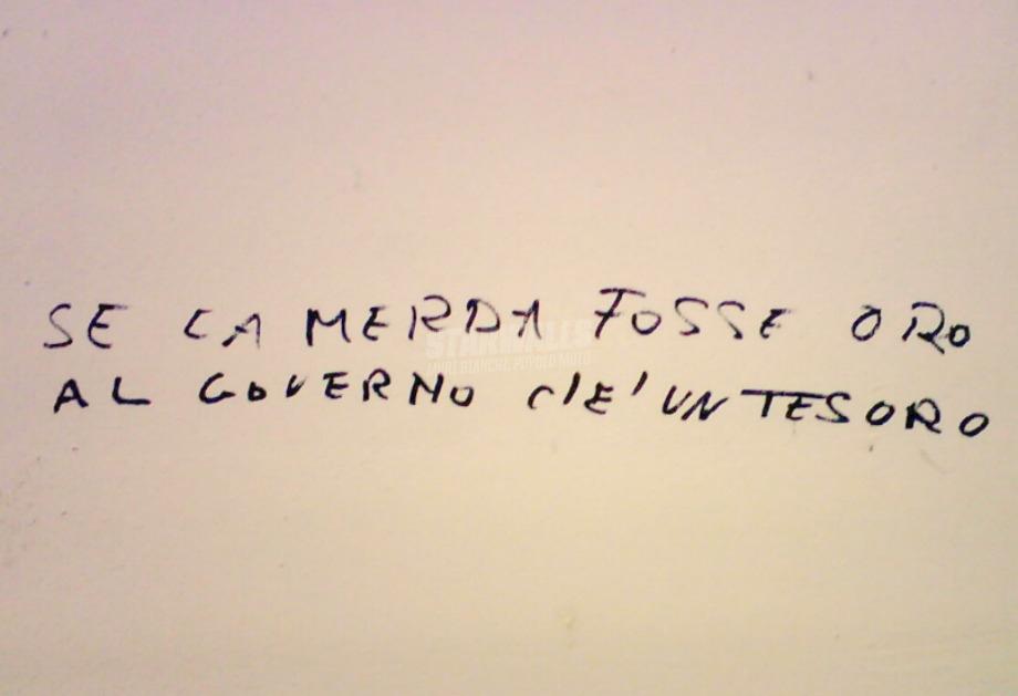 Scritte sui Muri Bene prezioso