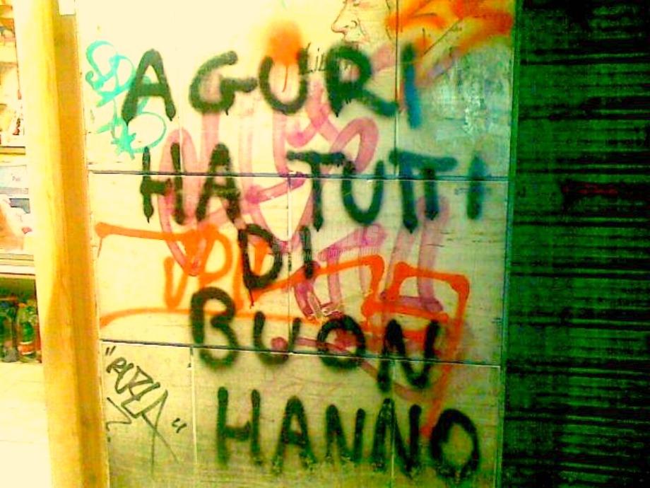 Scritte sui Muri Anche ha te!