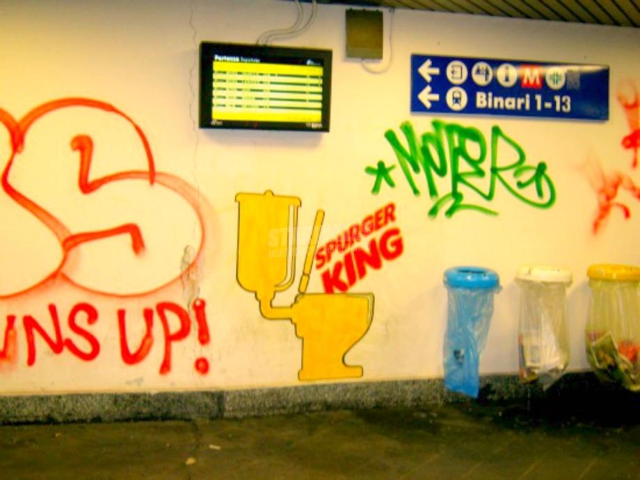 Scritte sui Muri Fast food