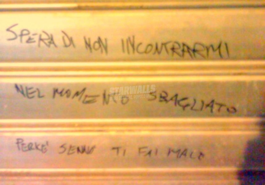 Scritte sui Muri Monito