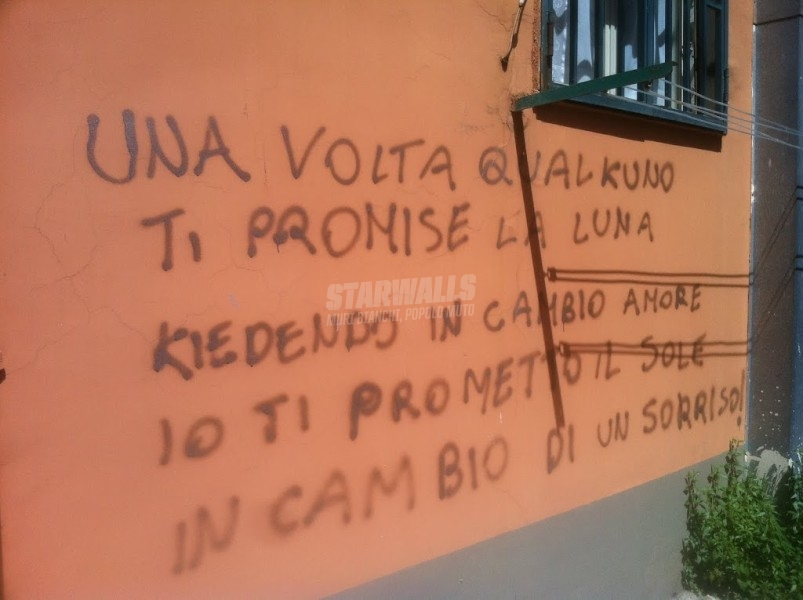 Scritte sui Muri Prometto&Mantengo
