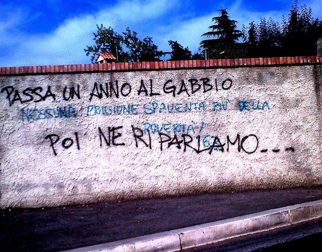 Scritte sui Muri In gattabuia