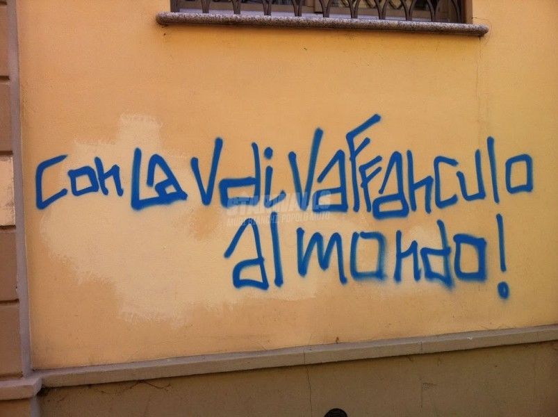 Scritte sui Muri V-day