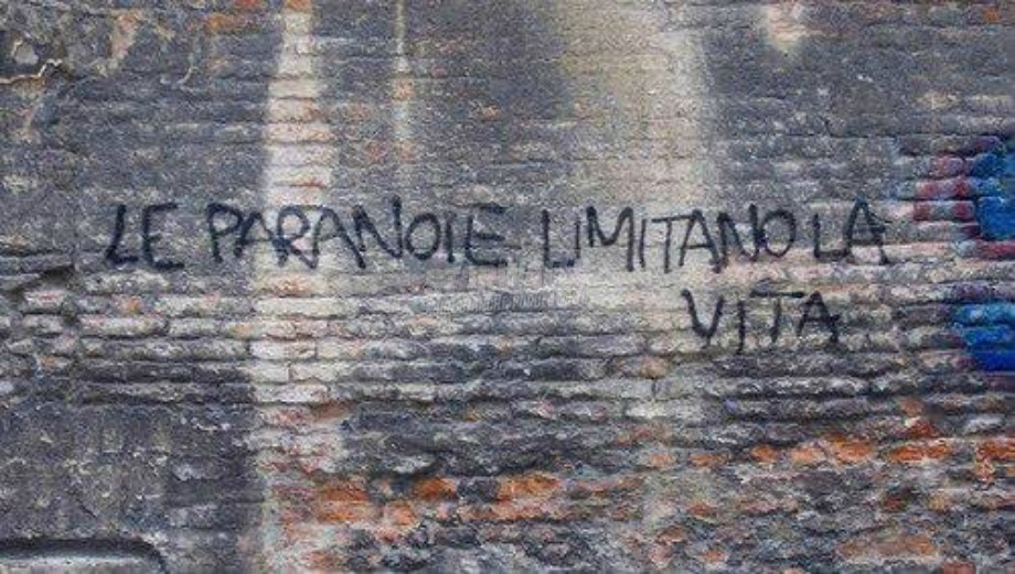 Scritte sui Muri Free your mind