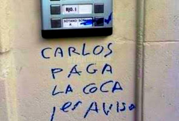 Scritte sui Muri i copponi si pagano